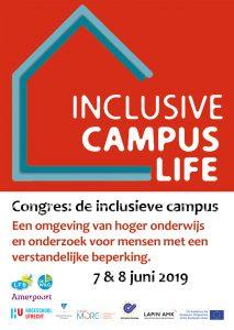 uitnodiging conferentie Inclusive Campus Live op 7 en 8 juni 2019