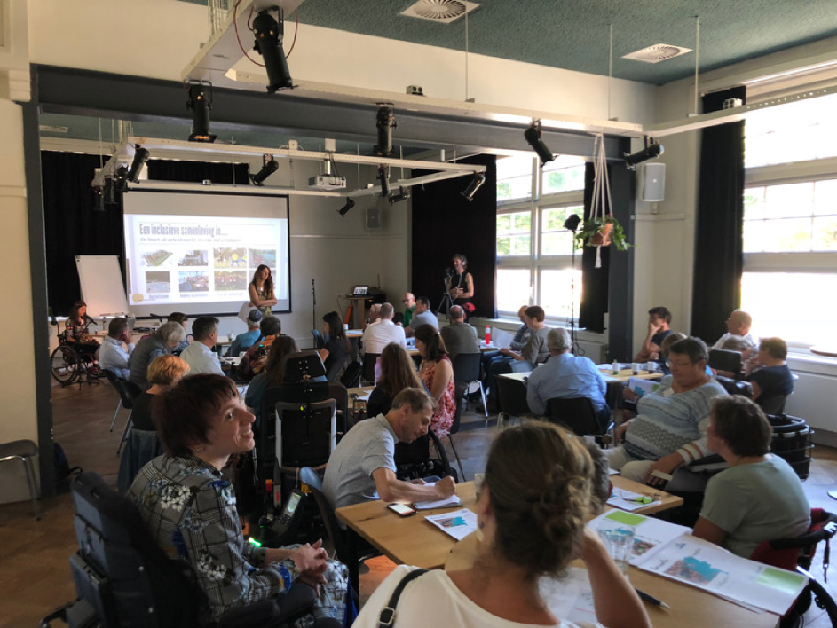 foto van Plenaire Ochtendsessie Netwerk Inclusieve Gemeenten 2 juli 2018